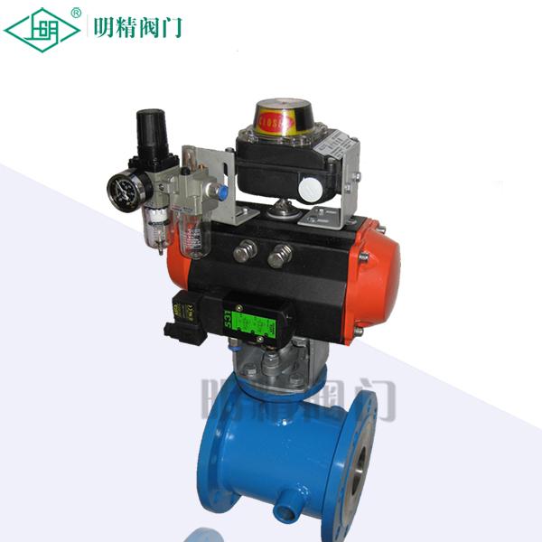 QJD/SRB精小型气动保温O型切断球阀